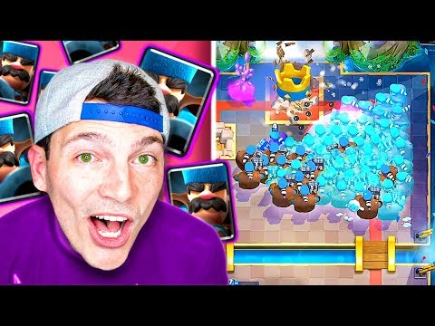 CRAZY HUNTERS!! (Clash Royale New Card Update Gameplay Nickatnyte) (видео)