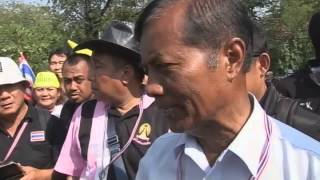 In a knot: Thai police soften their stance
