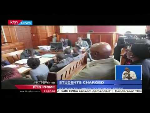 Lang'ata High School students charged in court with arson attack