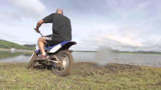 5. Yamaha TTR 90 Dirt Bike