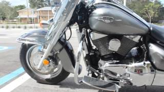 8. SOLD! 2005 Suzuki C90 Cruiser Motorcycle Review and Walk Around For Sale