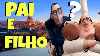 TEORIA Ratatouille - Anton Ego é FILHO do Gusteau ?
