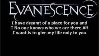 Evanescence anywhere lyrics. Enjoy rate comment and subcribe! :D.