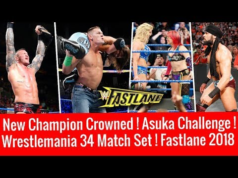 New Champion ! Asuka Challenges ! WWE Fastlane 2018 Highlights 3/11/2018 11 March 2018