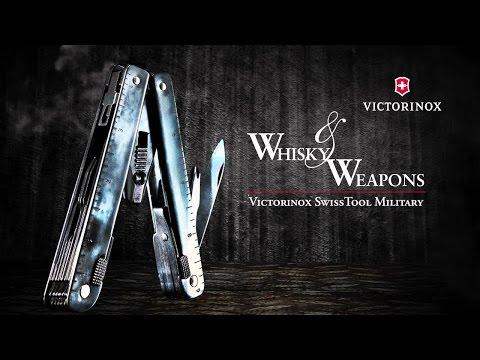 Victorinox Swiss Army SwissTool CS Plus Multi-Tool - Whisky & Weapons - Ultra HD, 4K