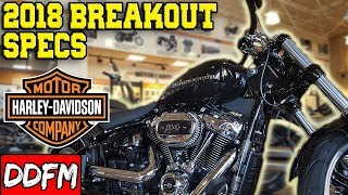 1. 2018 Harley Davidson Breakout Specs and Walkaround!