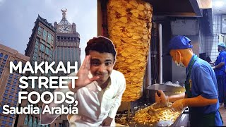 Video Makkah Street Food | Arabic Shawarma & More | Saudia Arabia MP3, 3GP, MP4, WEBM, AVI, FLV April 2019