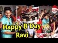 Jamai Raja actor Ravi Dubey celebrates His 33rd Birthday