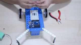 Arduino Robots : Edge Detector/Avoider