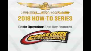 8. HOW TO: 2018 GoldWing Tour Automatic DCT - Best Key Features