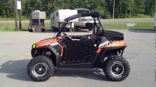 3. Street Legal 2012 Polaris Ranger RZR S 800 Orange Madness/Black LE at Tommy's MotorSports
