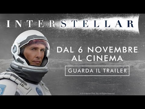 interstellar - trailer italiano del film di christopher nolan