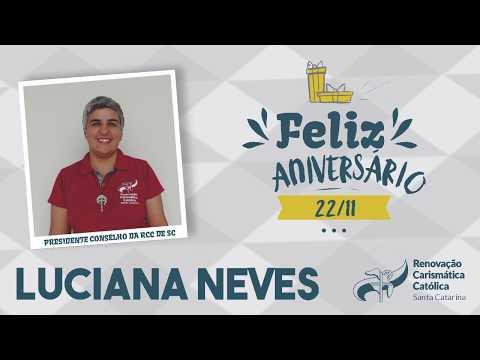 Parabéns Luciana Neves | Homenagem do Conselho Estadual RCC SC