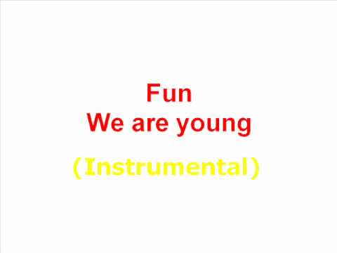 Fun - We are young Instrumental