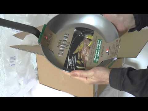 Manufactum Online Shop Test & De Buyer Eisenpfanne unboxing