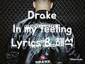 In my feelings (lyrics) 가사 & 해석