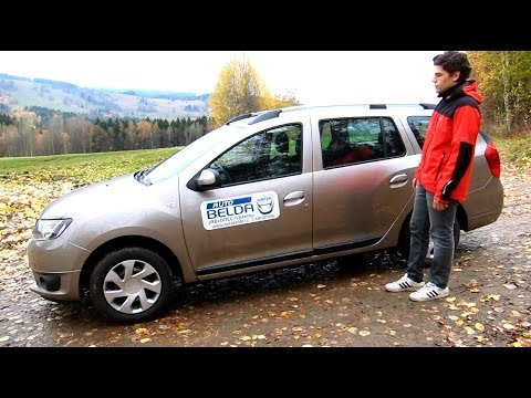Test Dacia Logan MCV 2013 0,9 TCe