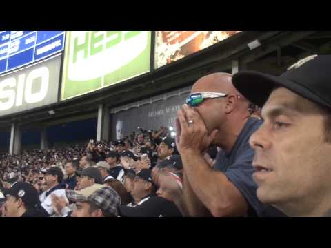 yankee stadium - The Bleacher Creatures chant The Captain's name for the last time at Yankee Stadium. Subscribe for daily sports videos! Subscribe for daily videos on YES Network: http://yesnet.me/10FUHE2...
