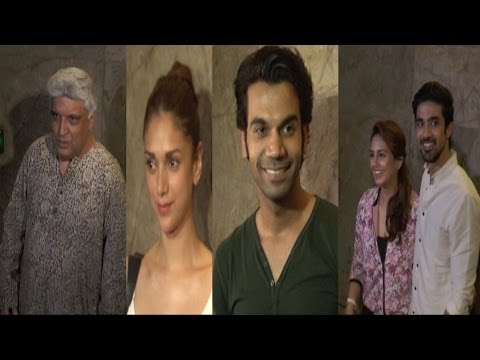 Rajkumar Rao, Aditi Rao Hydari & Other Celebs At Special Screening Of Movie Hawaa Hawaai