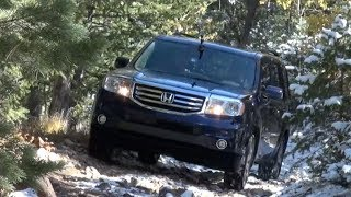 2014 Honda Pilot AWD Off-Road&0-60 MPH Drive And Review
