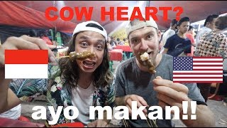 Video EATING MORE Indonesian Street Food!! (Sate Padang Ajo Ramon + Nasi Goreng) MP3, 3GP, MP4, WEBM, AVI, FLV Maret 2019