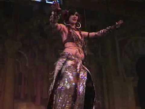 Rachel Brice performs at Tribal Fest 6 (видео)