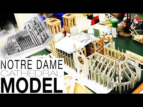 Notre Dame Cathedral Model