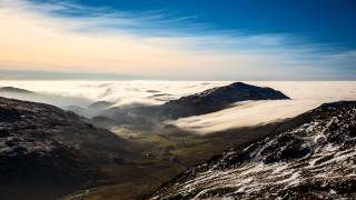 Crinkle Crags Cloud Inversion Timelapse