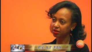 Who's who interview with Dr Liya Tadesse