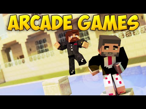 ГОНКА В БАССЕИНЕ - Minecraft Arcade Games (видео)