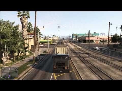 Grand Theft Auto 5   130923 67)   Truckers Delight (видео)