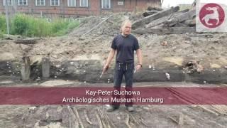 Pfähle: #Ausgegraben - Harburger Schloßstraße