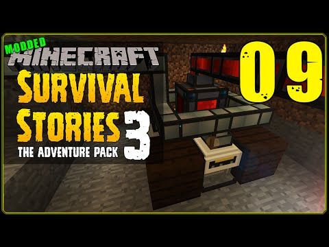 Minecraft Modded | Survival Stories 3 [S1E9] - Culinary Generator Room!