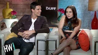 Nonton Mae Whitman   Robbie Amell Talk Make Out Scene   The Duff  Film Subtitle Indonesia Streaming Movie Download