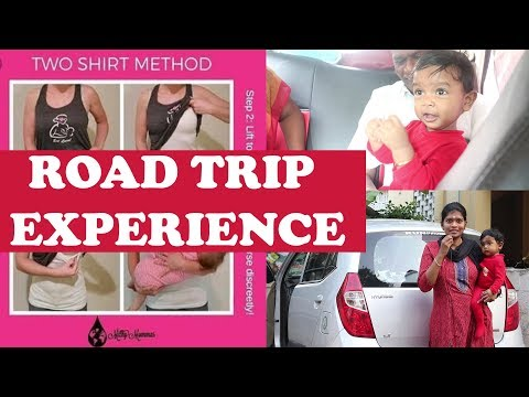 Baby Travel Essentials| Two Shirt Method For Breastfeeding | Pongal Travel Vlog 2019