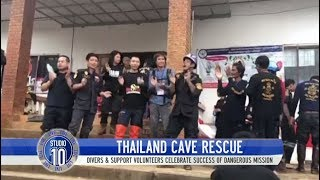 Video All 12 Boys & Soccer Coach Successfully Rescued From Thai Cave | Studio 10 MP3, 3GP, MP4, WEBM, AVI, FLV September 2018