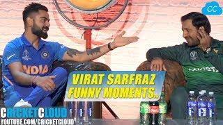 Virat Kohli Sarfraz Funny Moment at World Cup 2019 Press Conference