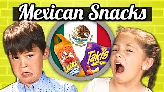 Video KIDS EAT MEXICAN SNACKS! | Kids Vs. Food MP3, 3GP, MP4, WEBM, AVI, FLV Juli 2018