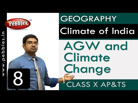 AGW And Climate Change | Climate Of India | Social |Class 10 Science