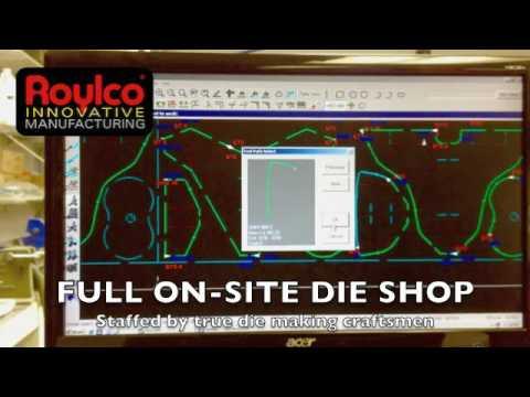 Roylco Innovative Manufactoring - Steel Rule Die Making