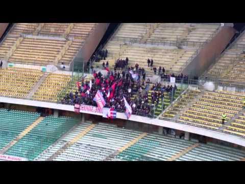 Ultras Crotone in trasferta a Bari