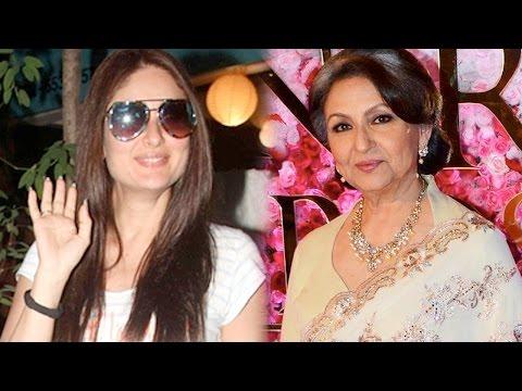 Sharmila Tagore Proud Of Daughter In Law Kareena K