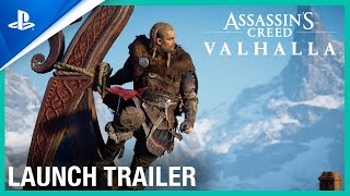 Assassins Creed Valhalla - Launch Trailer | PS5
