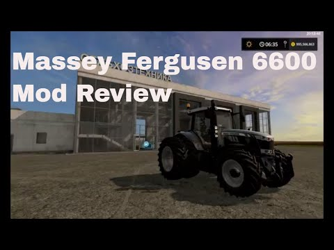 Massey Ferguson 6600 by Patrick