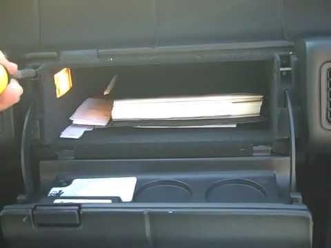 Cadillac Allante Bose Stereo Removal and Repair
