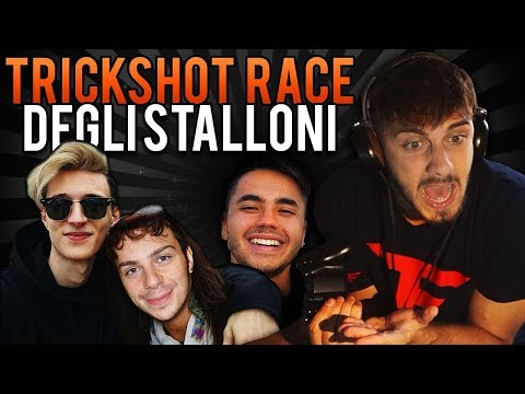 VIDEO SPECIALE - TRICKSHOT RACE CON GLI STALLONI!