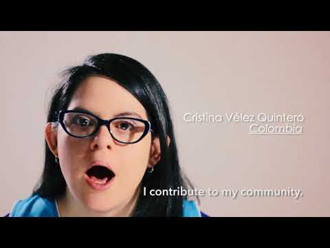 Ver vídeo #WDSD18 - Fundacion Sindrome de Down, Colombia - #WhatIBringToMyCommunity