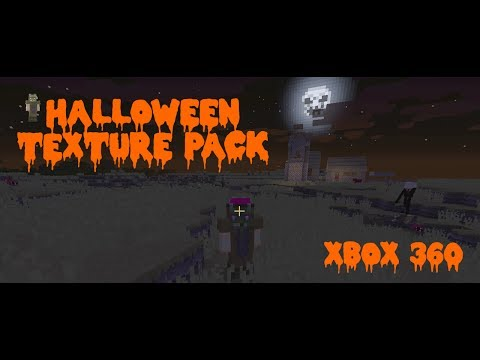 Minecraft Xbox 360 Halloween Texture Pack! Where's your bacon??