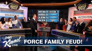 Star Wars Cast Plays Family Feud