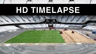 Time lapse - Olympic Stadium London 2012 HD